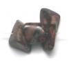 Semi-precious Chips 16in Strung Leopard Skin